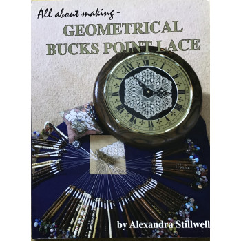 All about making Geometrical Bucks Point Lace - Alexandra Stillwell