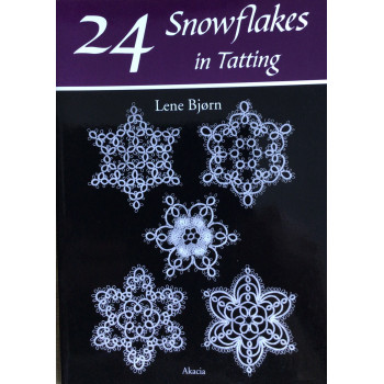 24 Snowflakes in Tatting - Bjorn